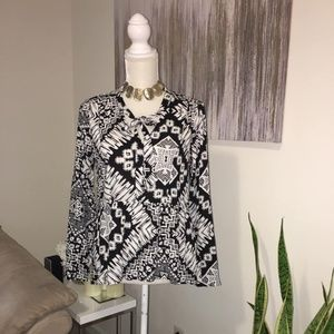 Express high low longsleeve blouse size S/P NWT